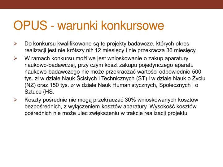OPUS -