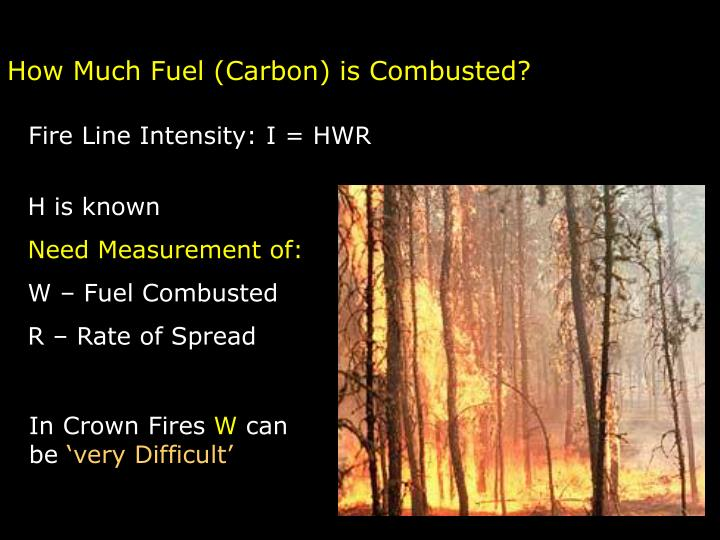 How Much Fuel (Carbon) is Combusted?