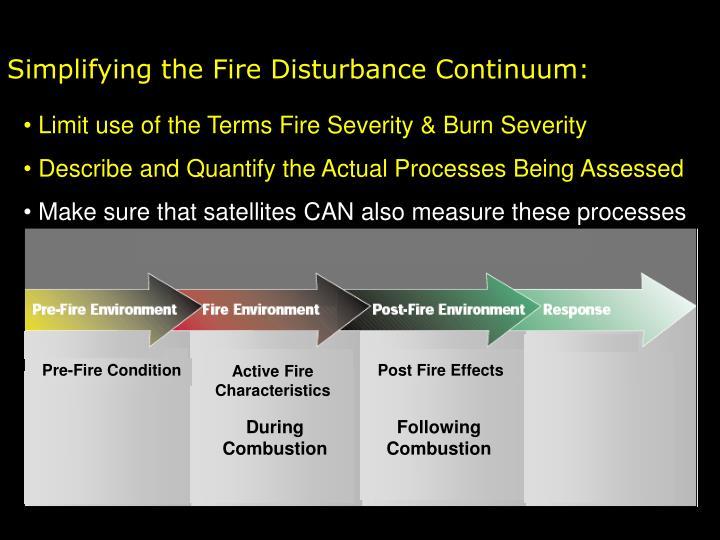 Pre-Fire Condition