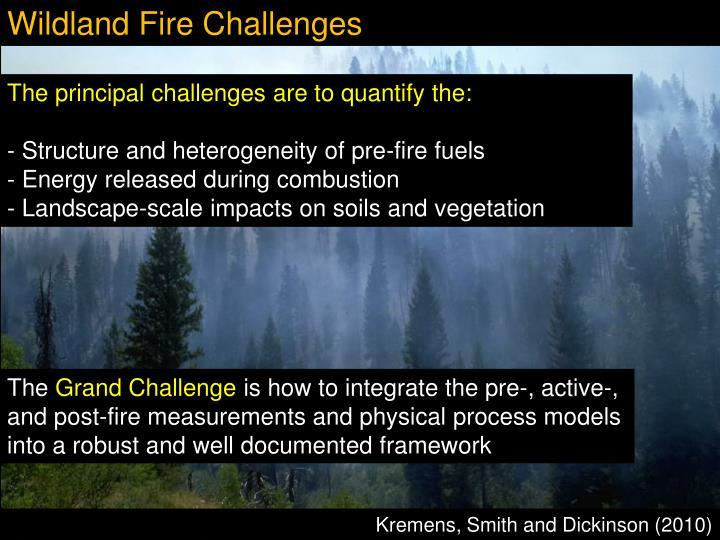 Wildland Fire Challenges