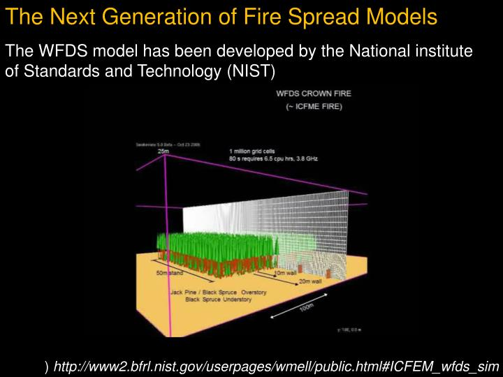 The Next Generation of Fire Spread Models