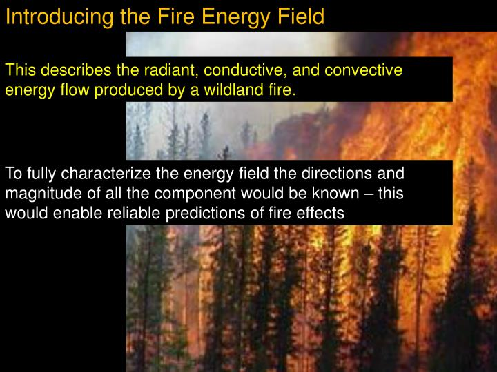 Introducing the Fire Energy Field