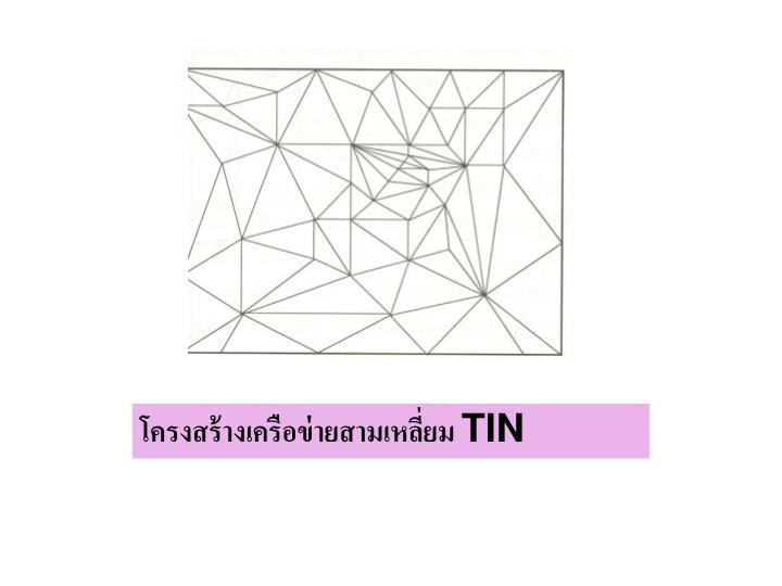 โครงสร้างเครือข่ายสามเหลี่ยม