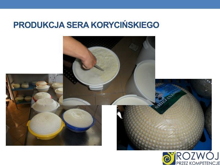 Produkcja sera korycińskiego
