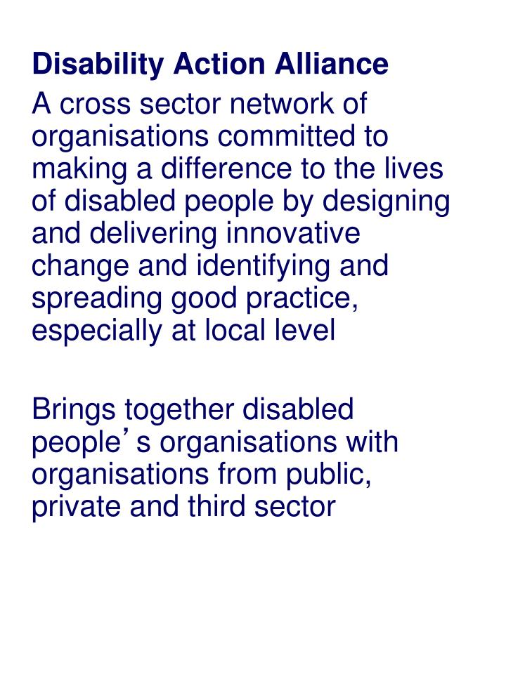 Disability Action Alliance
