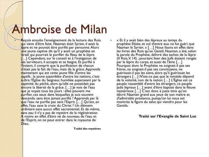 Ambroise de Milan