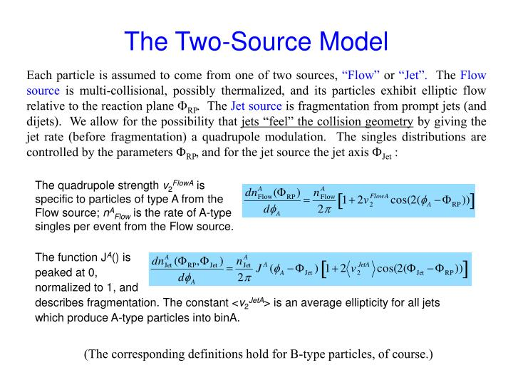 The Two-Source Model
