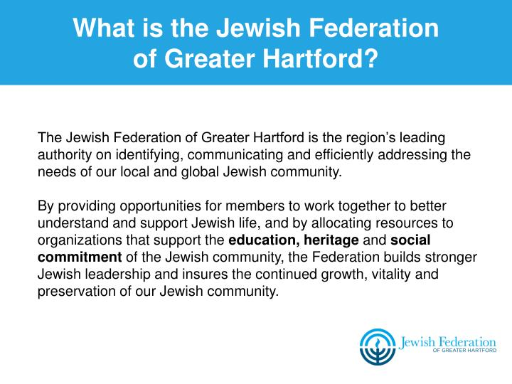 What is the Jewish Federation