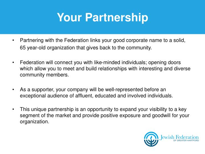 Your Partnership