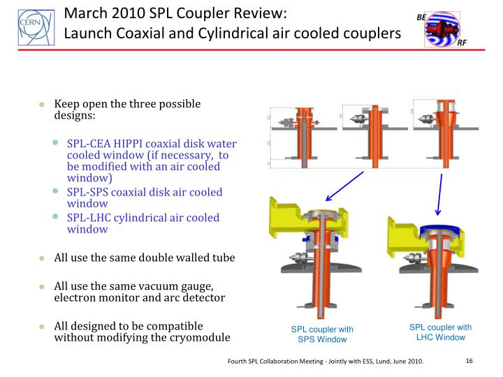 March 2010 SPL Coupler Review: