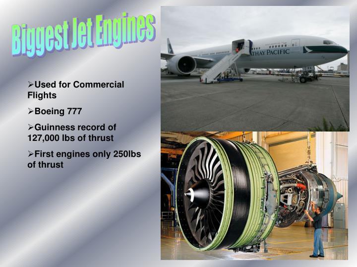 Biggest Jet Engines