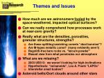 themes and issues