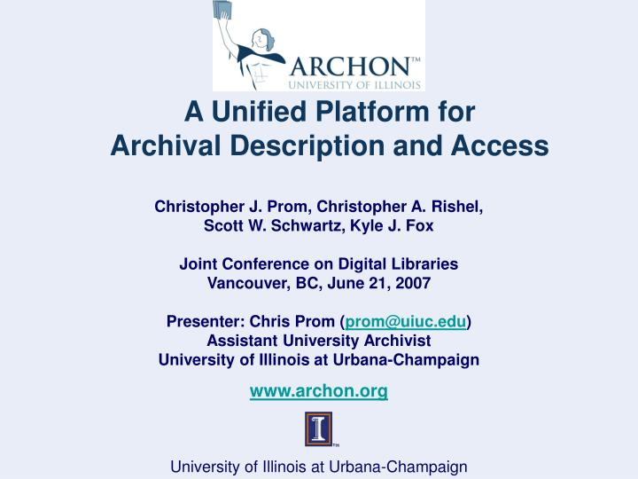 A Unified Platform for