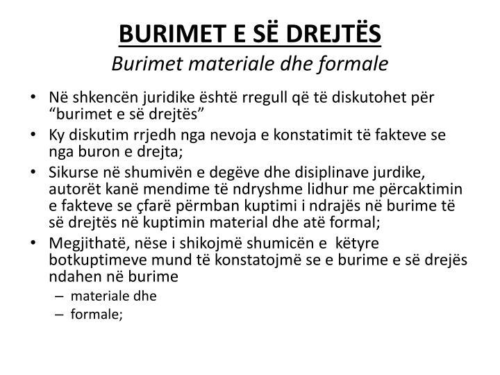 BURIMET