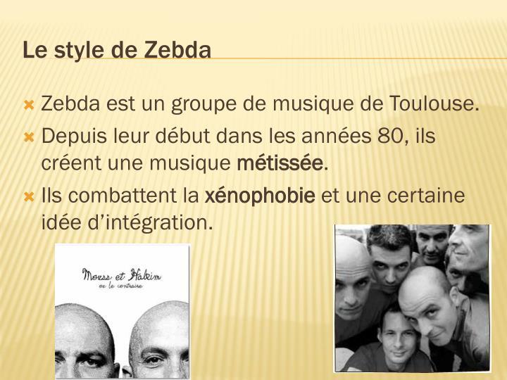 Zebda est un groupe de musique de Toulouse.