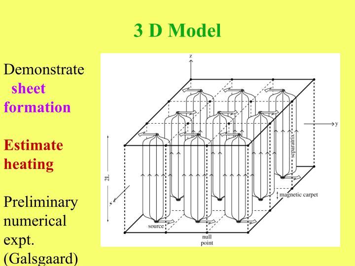 3 D Model
