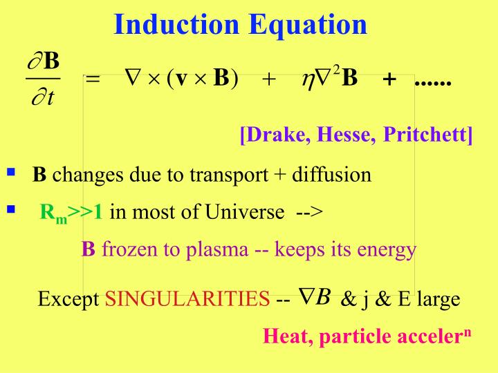Induction Equation