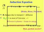 induction equation