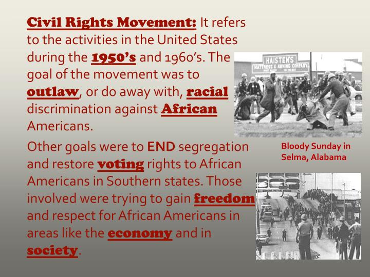 Civil Rights Movement: