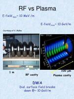 rf vs plasma