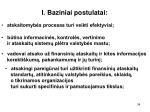 i baziniai postulatai1