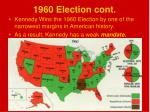 1960 election cont