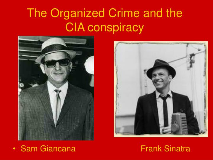 The Organized Crime and the CIA conspiracy