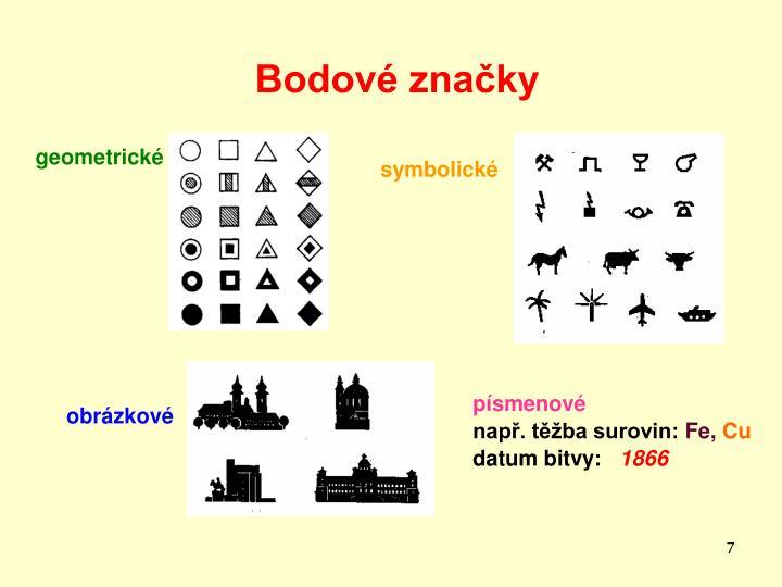 Bodové značky