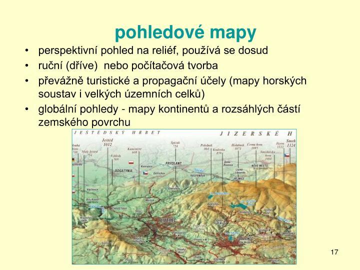 pohledové mapy