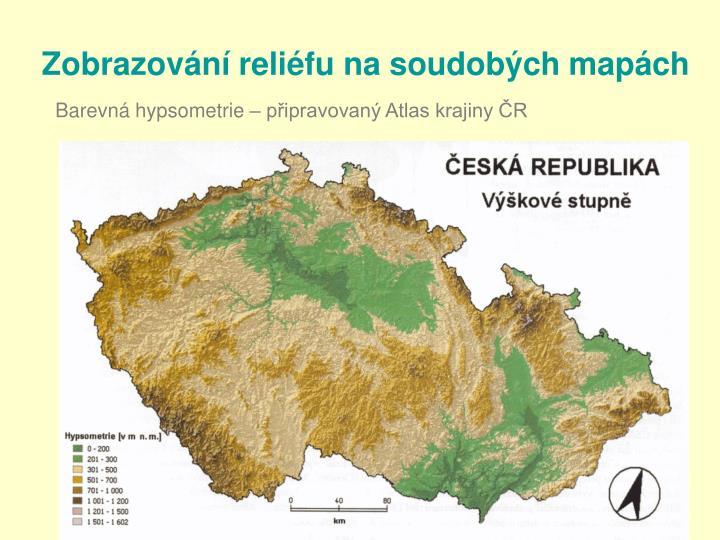Zobrazování reliéfu na soudobých mapách