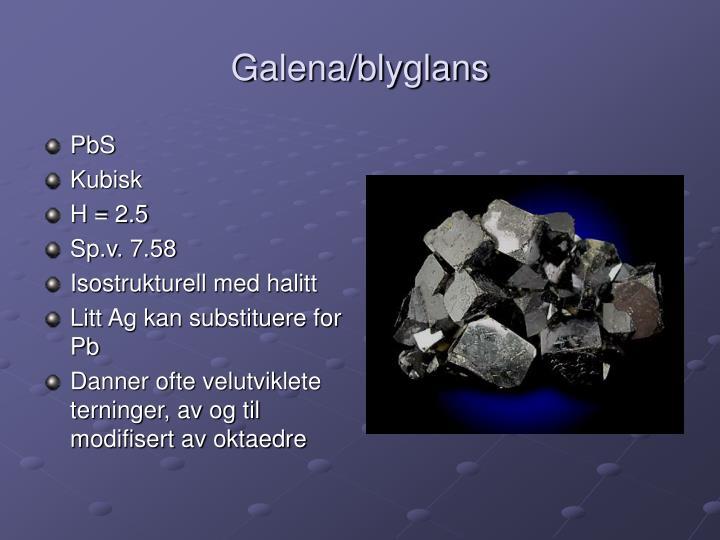 Galena/blyglans