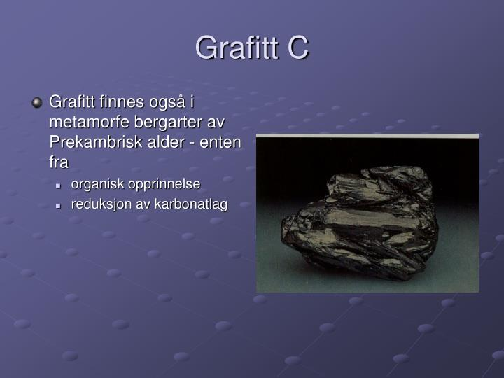 Grafitt C