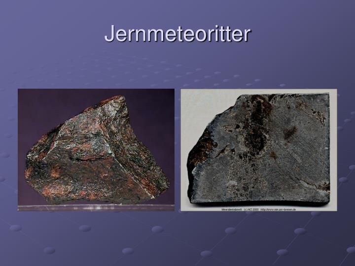 Jernmeteoritter
