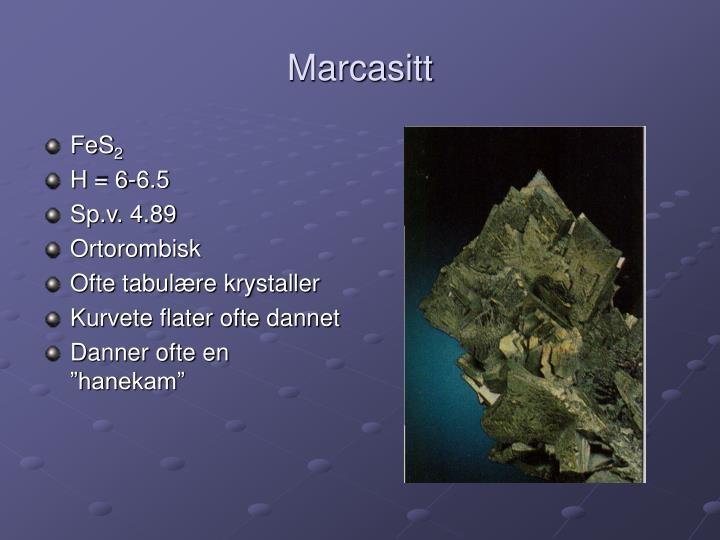 Marcasitt