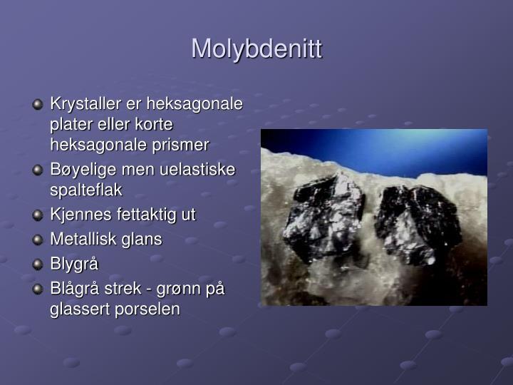Molybdenitt
