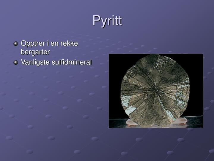 Pyritt
