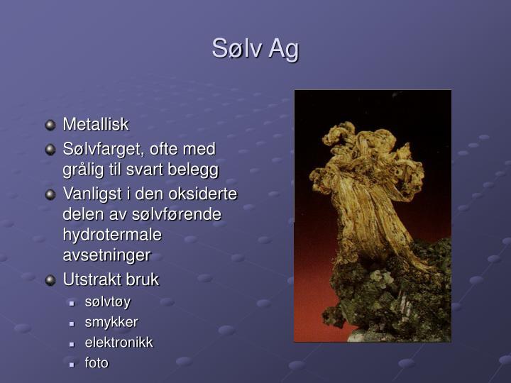 Sølv Ag