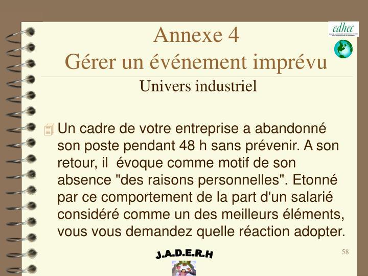 Annexe 4