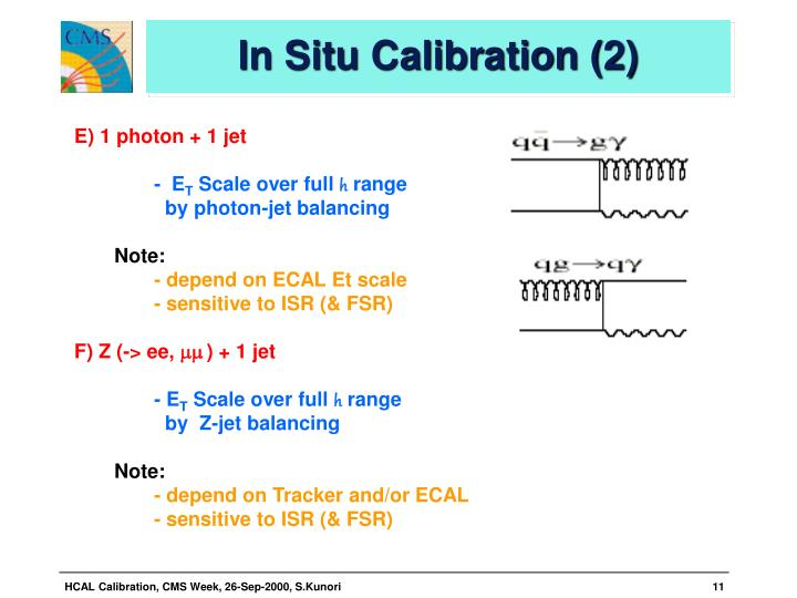 In Situ Calibration (2)