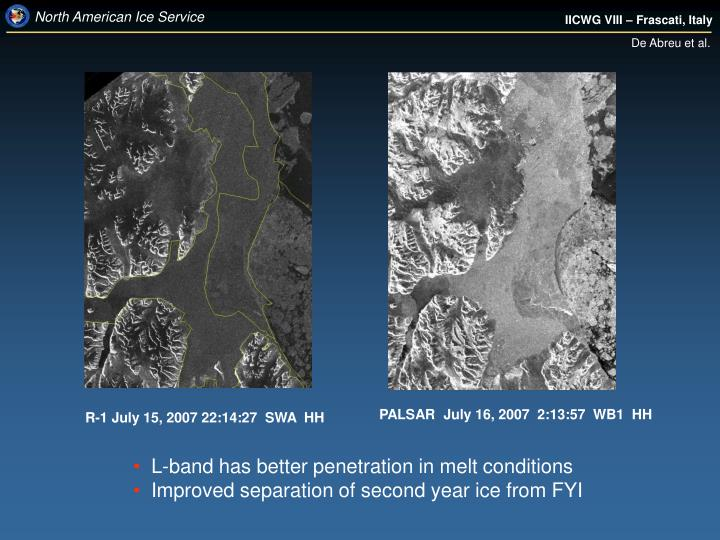 PALSAR  July 16, 2007  2:13:57  WB1  HH