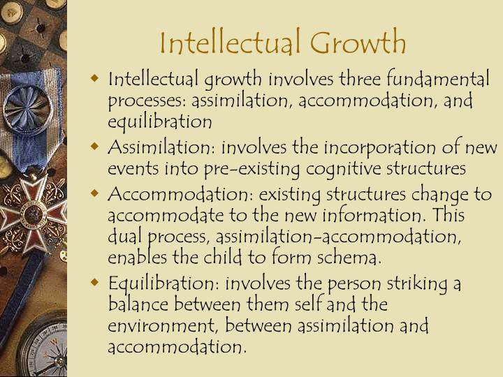 Intellectual Growth