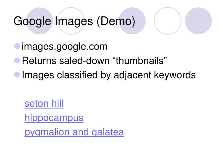 Google Images (Demo)