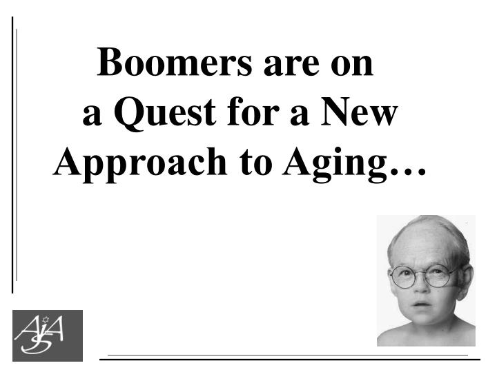Boomers are on