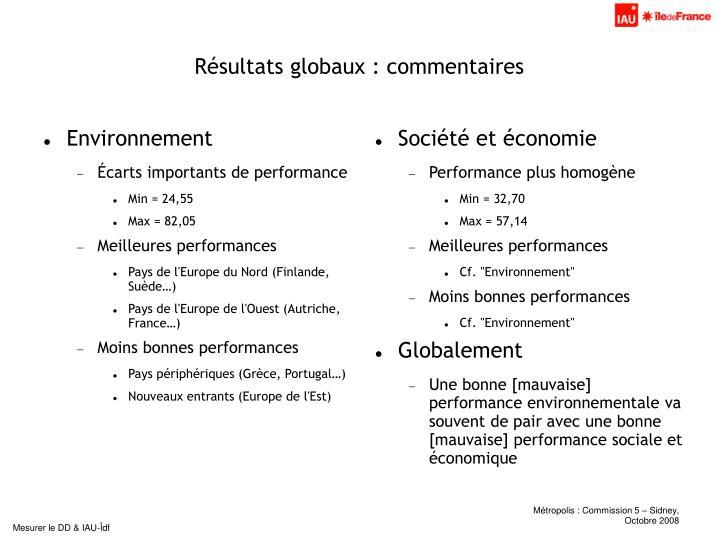 Société et économie