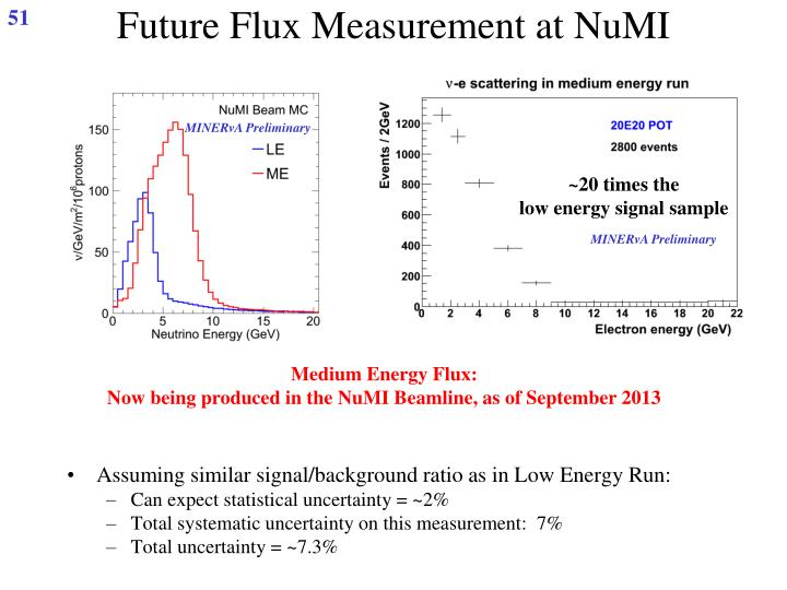 Future Flux Measurement at NuMI