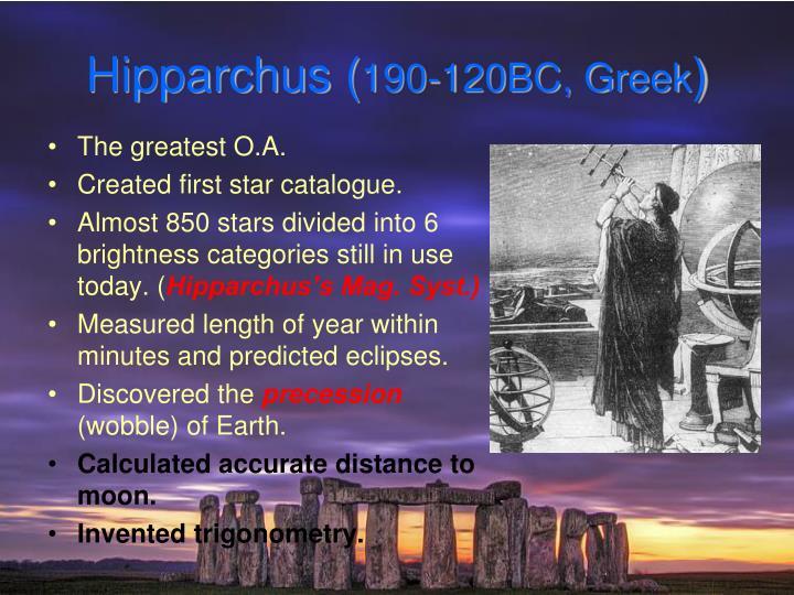 Hipparchus (