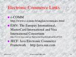 electronic commerce links1