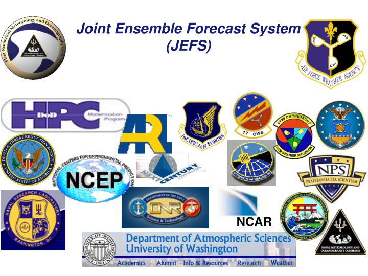 Joint Ensemble Forecast System