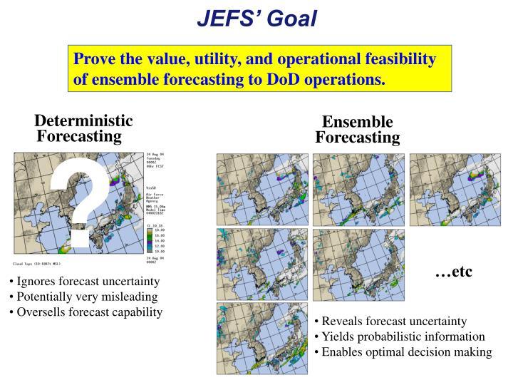 JEFS' Goal