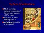 tycho s contributions1